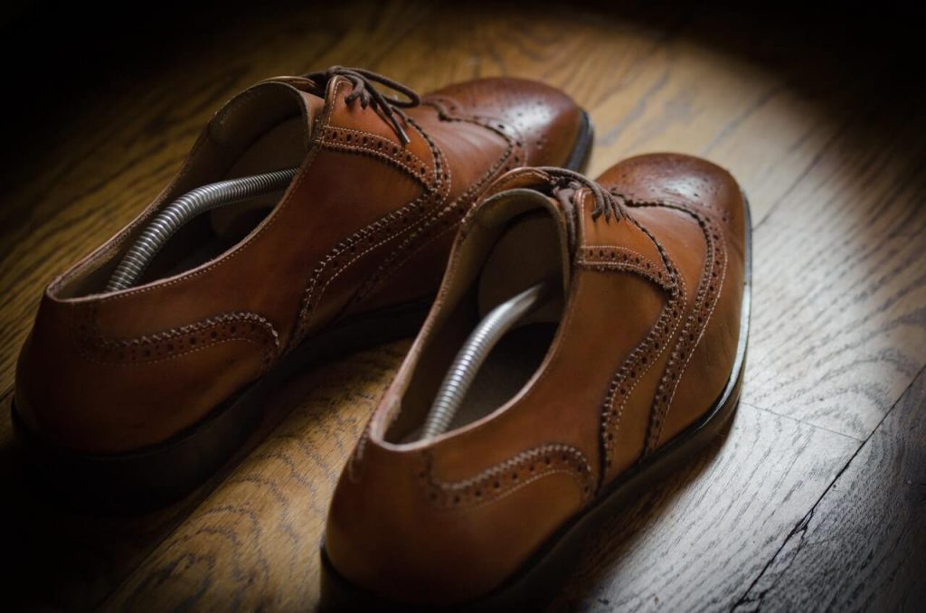 Oxford Schuhe mit Broguings