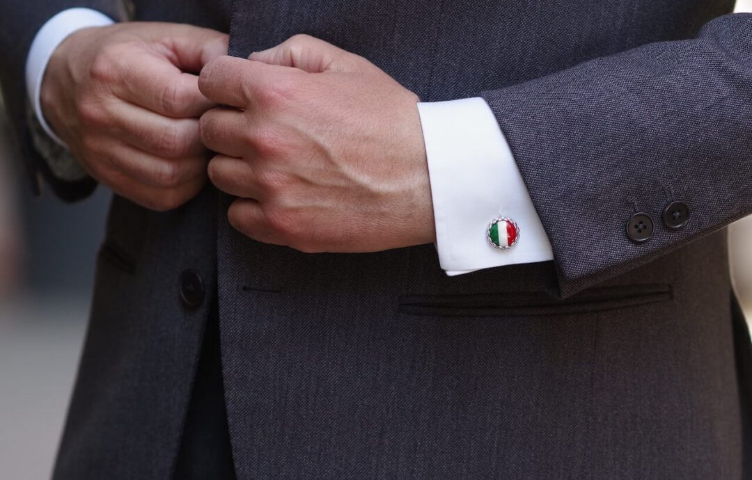 Barbarulo – handgefertigte Manschettenknöpfe aus Neapel