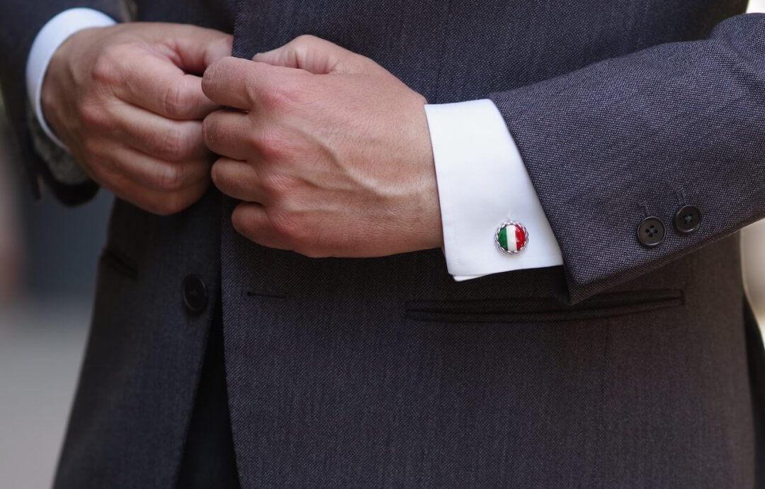 Barbarulo – handmade cufflinks from Naples